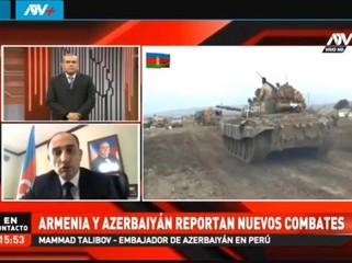Peru televiziyasında Ermənistanın müharibə cinayətləri haqda danışılıb