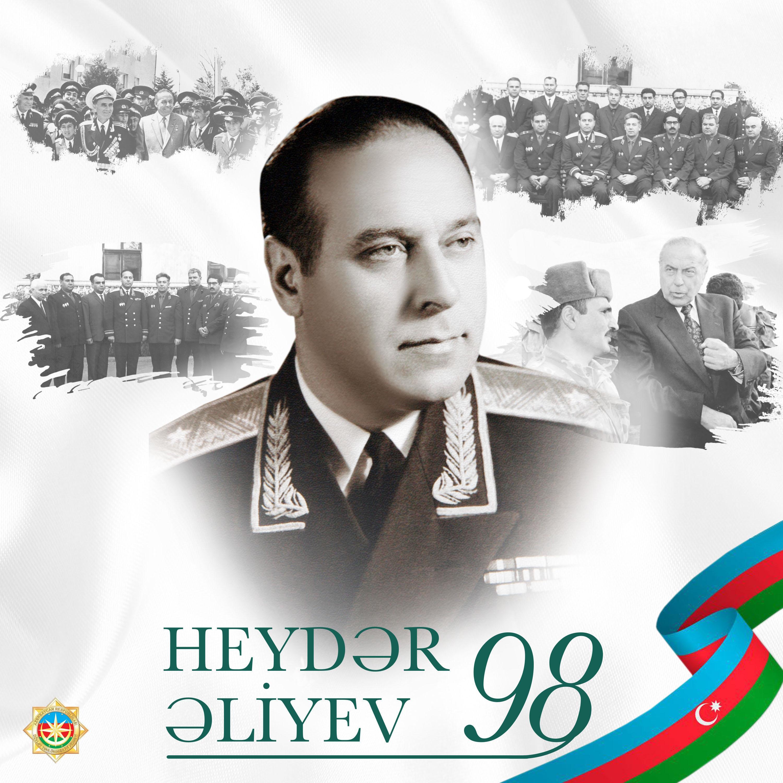 DTX Heydər Əliyevin anadan olmasının 98-ci ildönümü ilə bağlı paylaşım