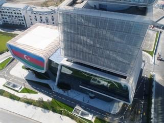 İlham Əliyev İqtisadiyyat Nazirliyinin yeni binasının açılışında iştirak edib - YENİLƏNİB