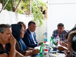 Prezident İlham Əliyev şəhid jurnalistlərə ev verib - FOTO