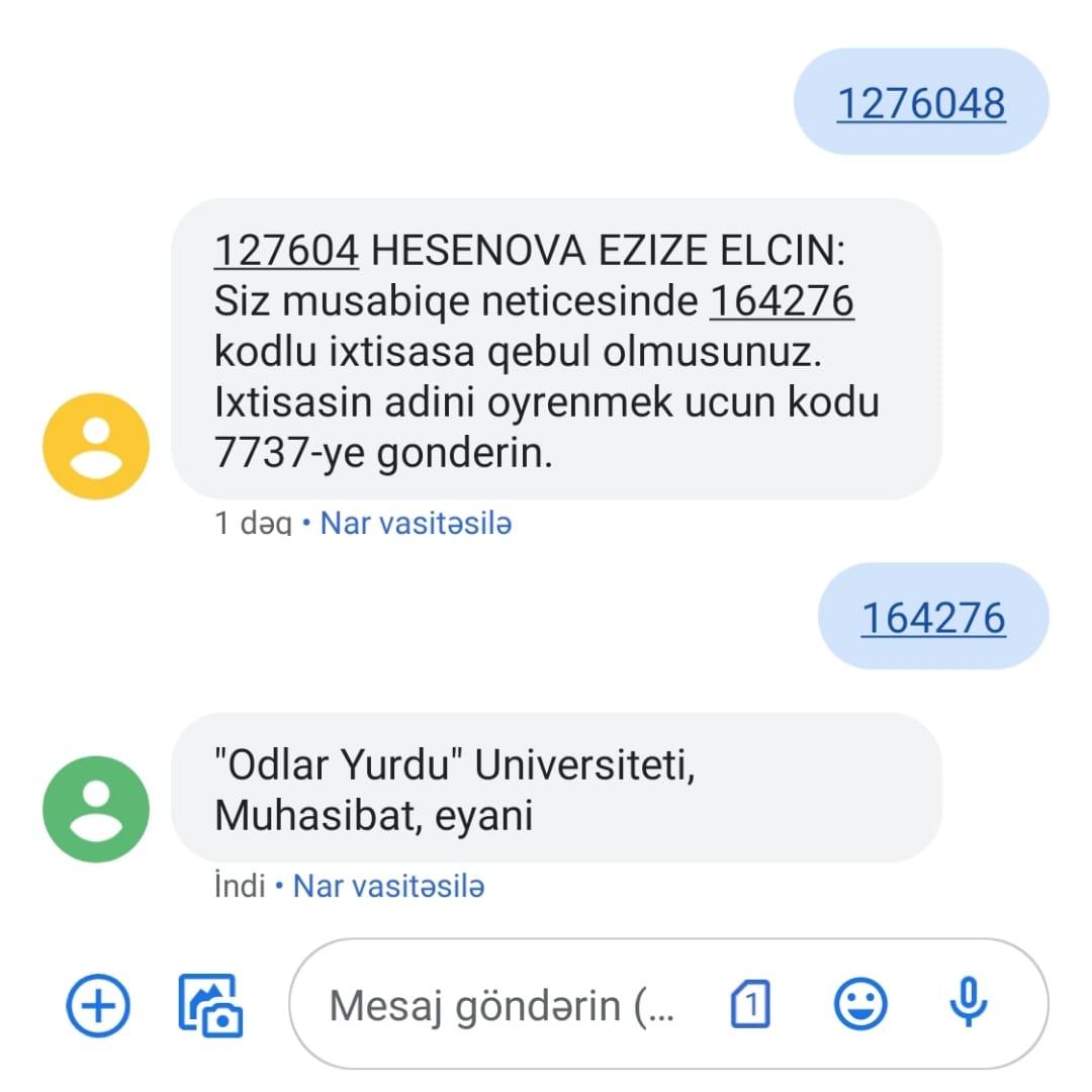 Şəhidimizin həyat yoldaşı tələbə oldu - FOTO