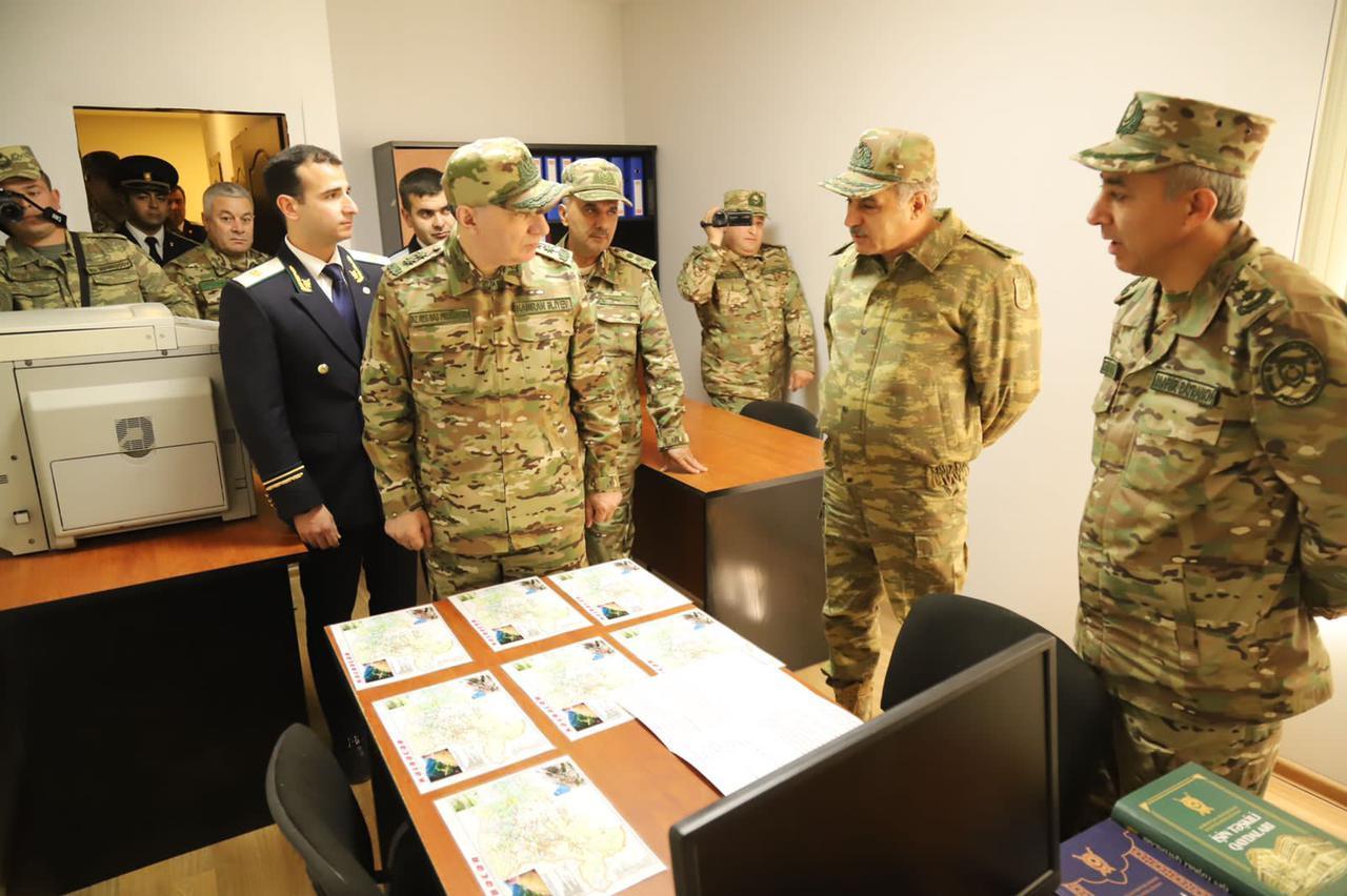 Baş prokuror Ermənistanla sərhədə gedib - FOTOLAR