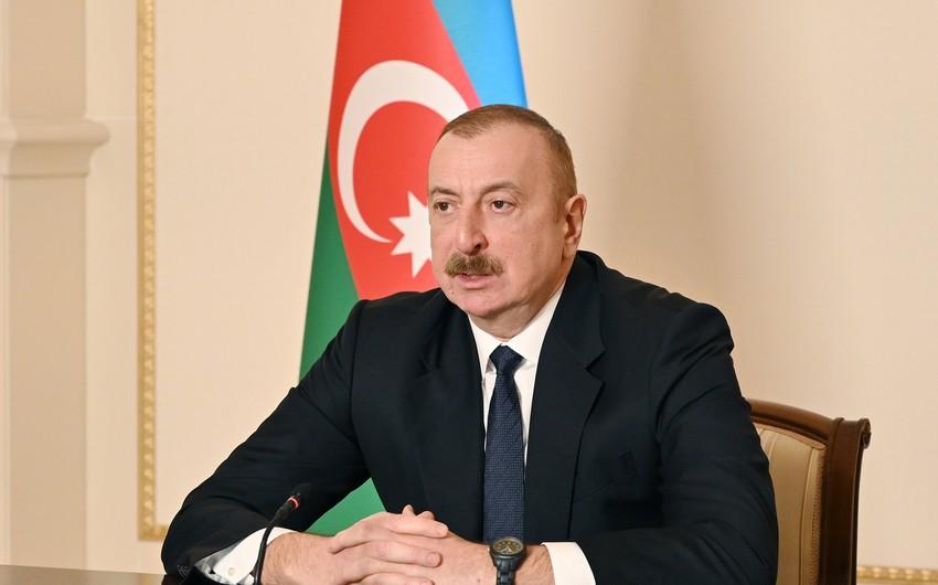 Azərbaycan lideri Əfqanıstandan danışdı