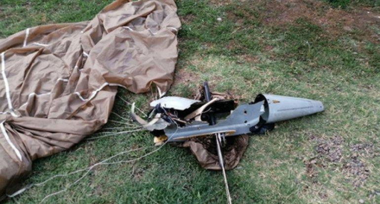 Erməni hərbi PUA-sı vuruldu, MN təsdiqlədi - VURULMA ANI - ANBAAN VİDEO
