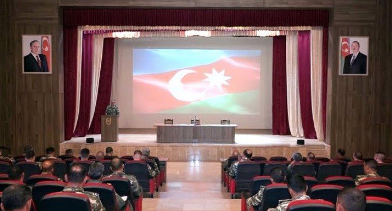 Naxçıvanda komandirlər toplandı - VIDEO