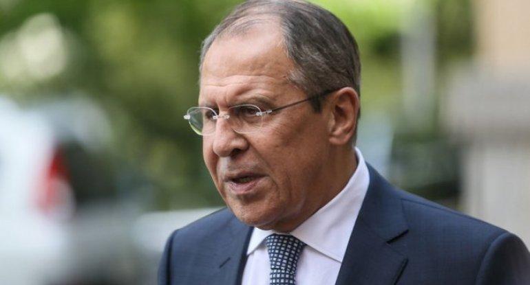 Sergey Lavrov: Rusiya işğal olunmuş 5 rayonun geri qaytarılmasının tərəfdarıdır