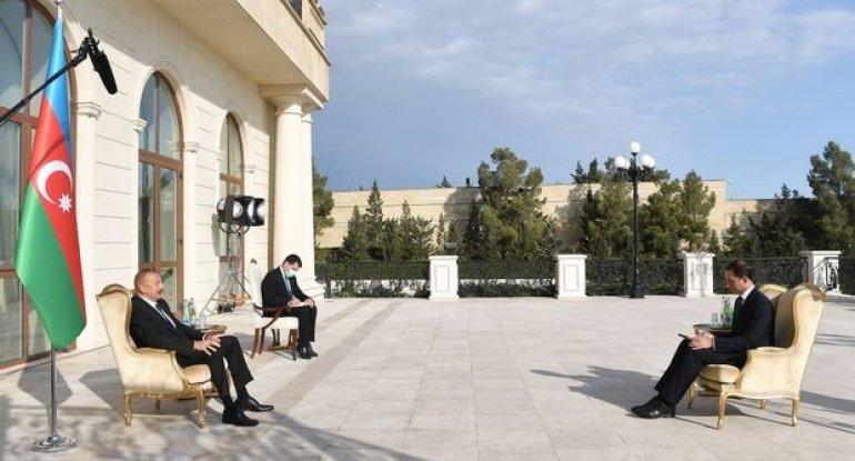Prezident yeni səfirin etimadnaməsini qəbul etdi - FOTO