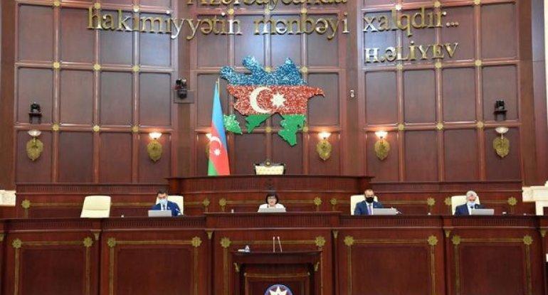 Milli Məclisin payız sessiyasının ilk plenar iclasının gündəliyi – SİYAHI