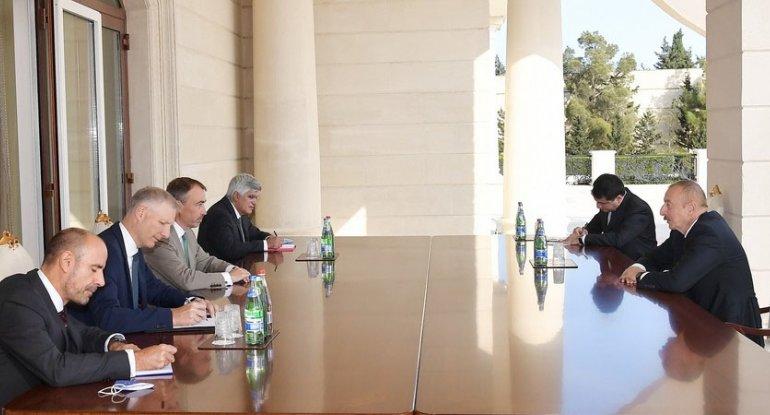 İlham Əliyev Avropa İttifaqının xüsusi nümayəndəsini qəbul etdi (FOTO)
