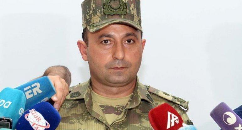 """Anar Eyvazov: """"Hərbi Hava Qüvvələrimiz düşmənin zirehli texnika və artilleriyadan ibarət kolonu məhv edib"""""""