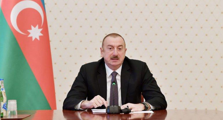"""İlham Əliyev: """"Beynəlxalq ictimaiyyət ağılsız diktatoru dayandıra bilmirsə, Azərbaycan dayandıracaq"""""""