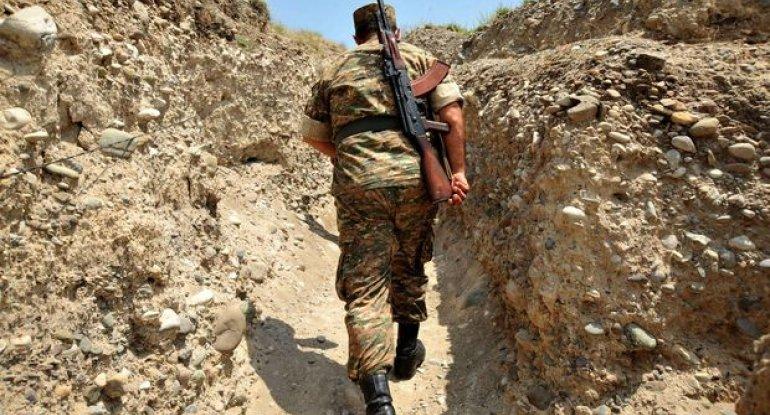 Erməni taborunun şəxsi heyəti müdafiə mövqelərini tərk edərək qaçır - RƏSMİ