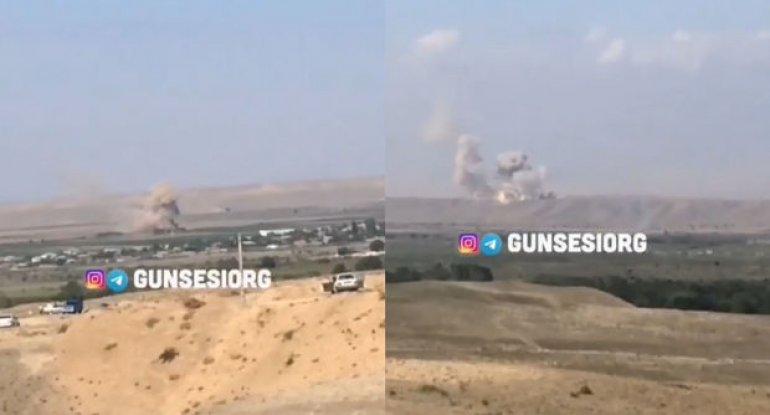 Ordumuzun uğurlu zərbələri İrandan göründü - VİDEO
