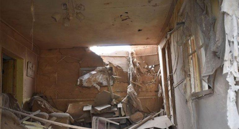 Ermənilərin yaşayış məntəqəsini atəşə tutması nəticəsində Ağdamda 97 ev və obyekt dağılıb