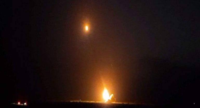 Düşmənə artilleriya zərbələri endirildi - VİDEO