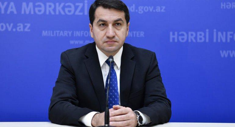 Prezidentin köməkçisindən Ermənistana daha bir XƏBƏRDARLIQ