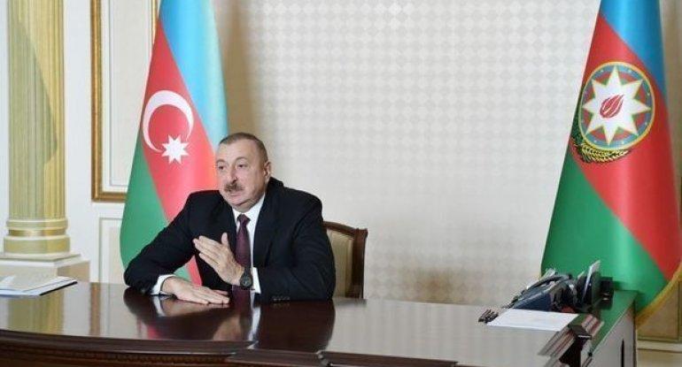 """Prezident: """"Ermənistan bizim ərazilərimizi tərk etməlidir və yalnız ondan s ..."""