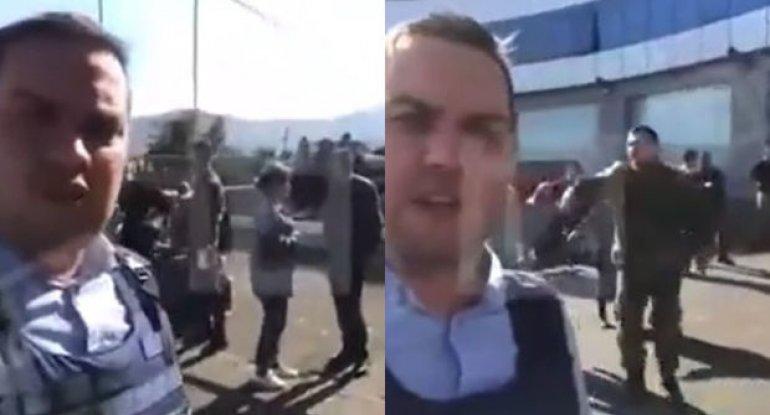 Ermənilərin Xankəndidən qaçmasının görüntüləri yayıldı - VİDEO