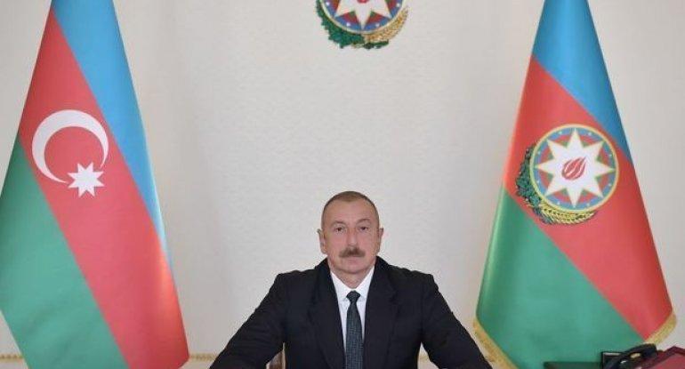 İlham Əliyev Hikmət Həsənovu Madagizin işğaldan azad olunması münasibətilə  ...