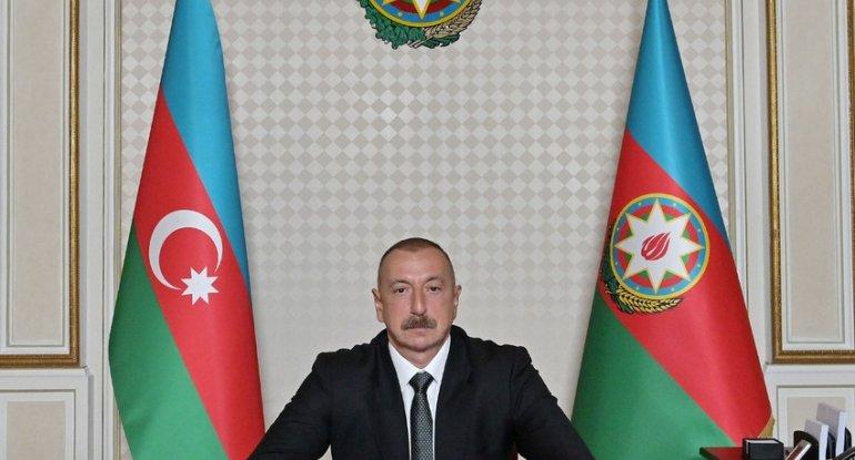 """İlham Əliyev """"TRT Haber"""" televiziya kanalına müsahibə verib"""