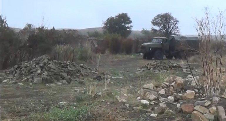 İşğaldan azad edilmiş Cəbrayıl rayonunun Çaxırlı kəndinin videogörüntüləri