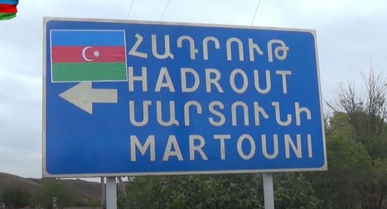 İşğaldan azad olunan Şükürbəyli kəndinin görüntüləri - VİDEO
