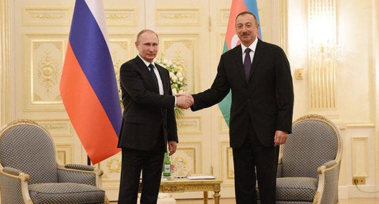 İlham Əliyev Vladimir Putinə zəng etdi
