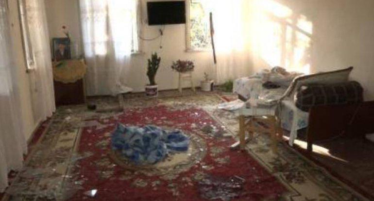 Düşmən təxribatı nəticəsində həlak olan Goranboy sakininin evindən VİDEOREPORTAJ