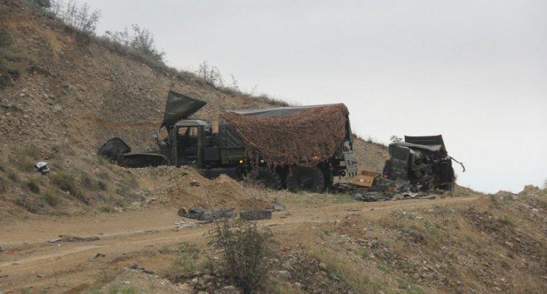 MN: Xankəndində sığınacaqda xeyli erməni hərbi qulluqçu məhv edildi