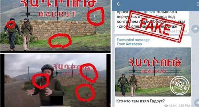 Ermənipərəst jurnalistin daha bir yalanı - VİDEO