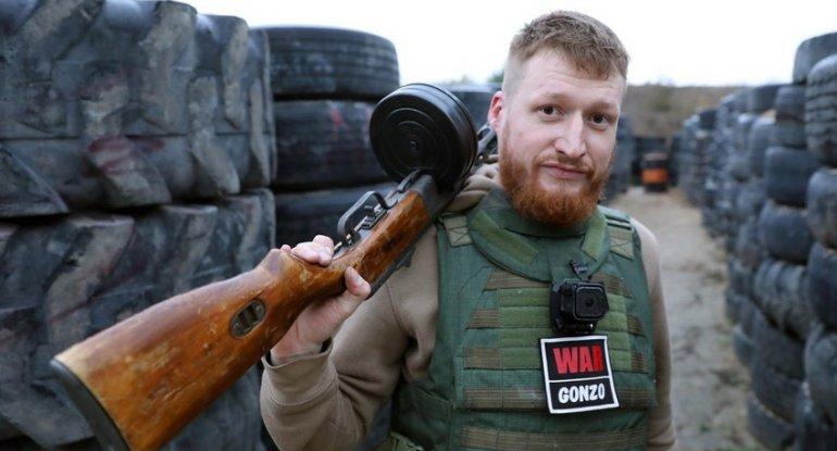 """""""WarGonzo""""nun təxribatçı jurnalistinə cinayət işi açıldı"""