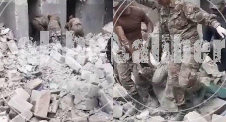 Azərbaycan ordusu erməni işğalçı qüvvələrinin komanda məntəqəsini darmadağın etdi - VİDEO