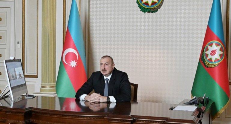 """İlham Əliyev: """"Minsk qrupunda elə ölkələr var ki, heç bu bölgə ilə maraqlan ..."""