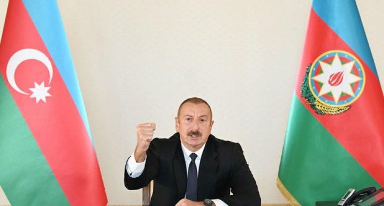 """İlham Əliyev: """"Füzuli işğaldan azad olundu"""