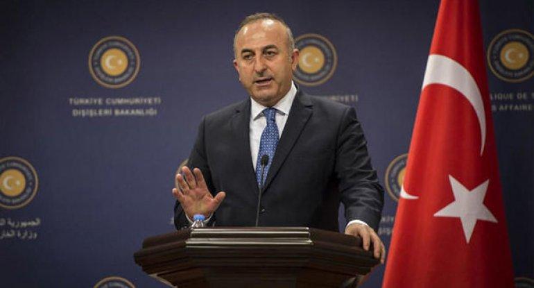 """Mövlud Çavuşoğlu: """"Ermənistanın törətdiyi vəhşiliklərə susmaq onların cinayətlərinə ortaq olmaqdır"""""""