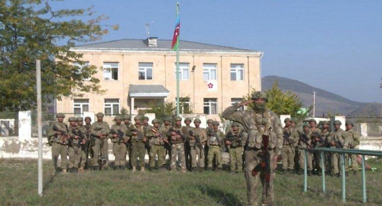 Zəngilana Azərbaycan bayrağı sancıldı - VİDEO
