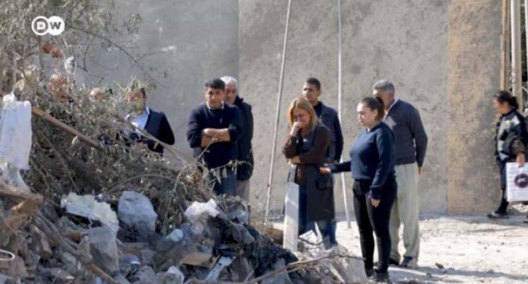 Almaniya kanalında Gəncəyə hücumla bağlı reportaj yayımlandı