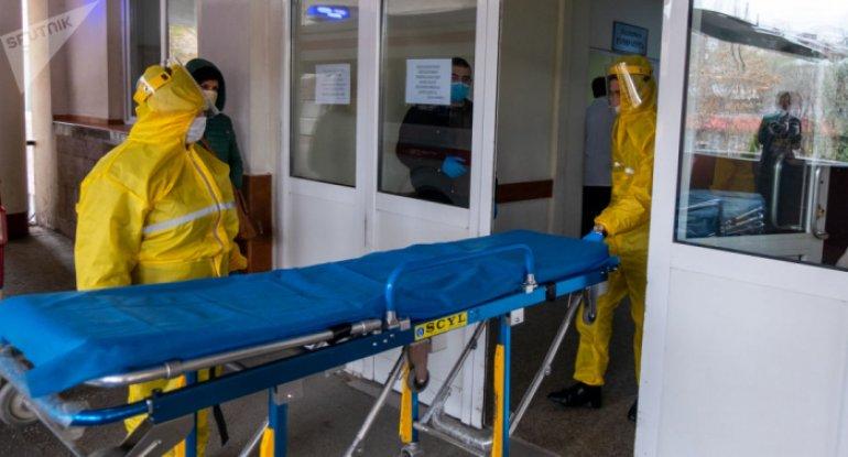 Ermənistanda koronavirus qurbanlarının sayı artdı
