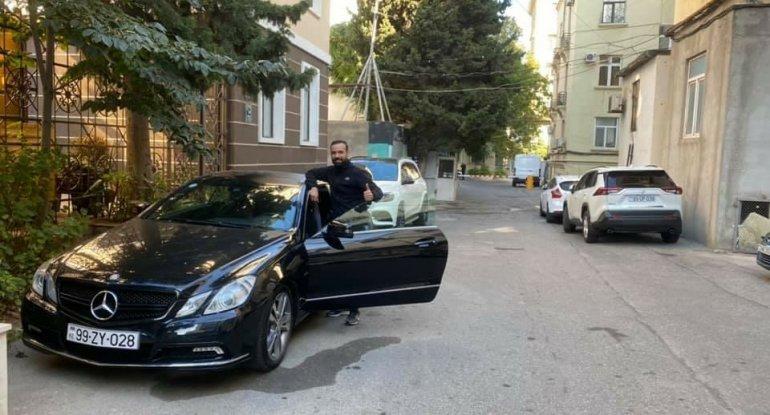 Biznesmen ''Mercedes'' markalı avtomobili əsgərə təqdim ETDİ - FOTO+VİDEO