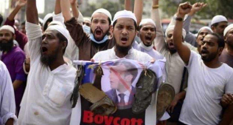 """Müsəlman ölkələri Fransanın anti-islam münasibətinə qarşı birləşdi: """"Makron bunun əvəzini ağır ödəyəcək"""""""