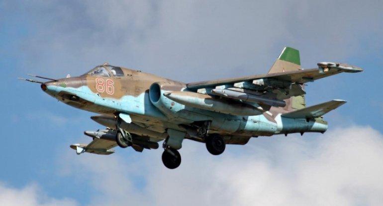 Düşmənin Su-25 döyüş təyyarəsi məhv edildi