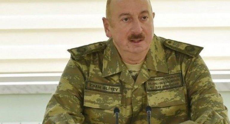 """""""Ordumuz Şuşaya nəfəs qədər yaxındır"""" - Ali Baş Komandandan MÜJDƏ"""