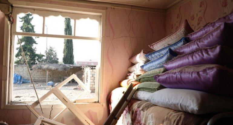 Ermənistanın mülki əhaliyə qarşı hücumları nəticəsində 2 734 ev yararsız vəziyyətə düşüb