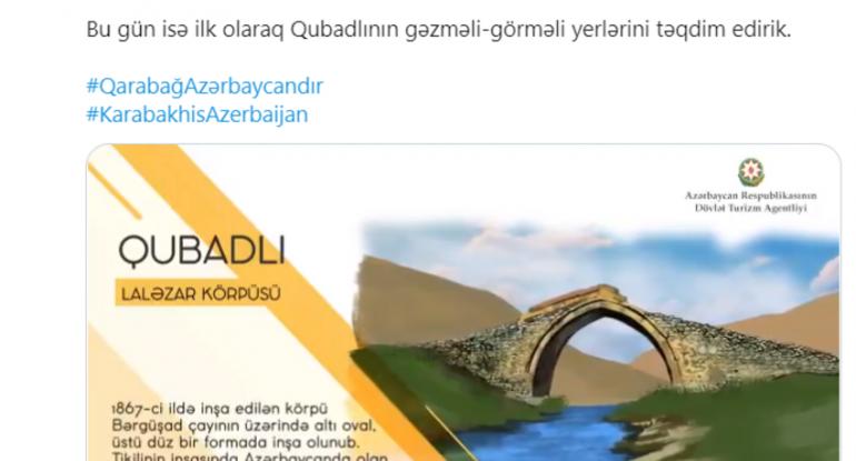 Qubadlının gəzməli-görməli yerləri - VİDEO