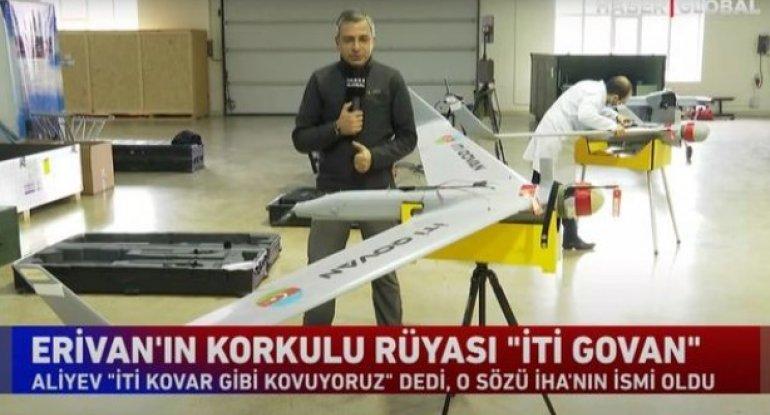 """""""Haber Global"""" """"İti qovan""""ın istehsal prosesindən süjet hazırladı - VİDEO"""