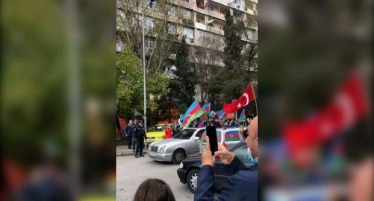 Azərbaycan xalqı qələbəni qeyd edir - VİDEO