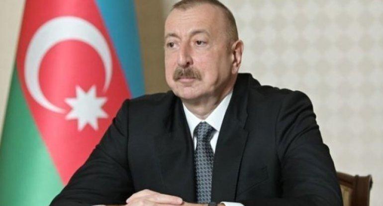 İlham Əliyev xalqa müraciət edir - CANLI