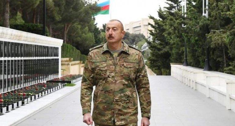 Azərbaycan idmançıları Ali Baş Komandana təşəkkür etdilər