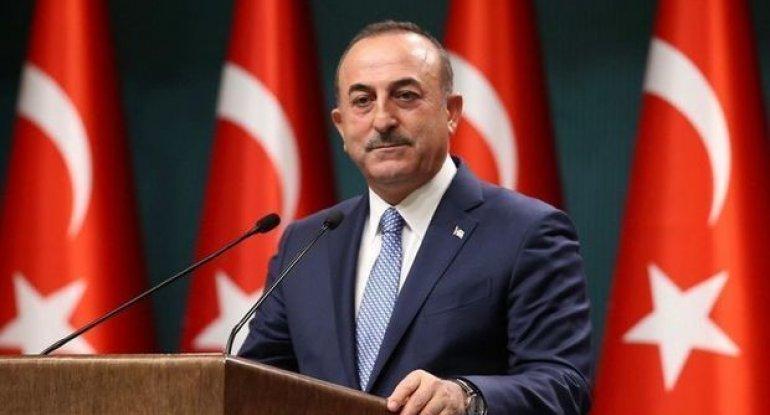 Çavuşoğlu Qarabağ məsələsi ilə bağlı sualları cavablandırır - CANLI YAYIM