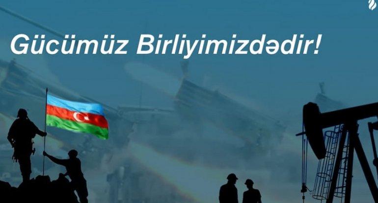 SOCAR Qarabağ müharibəsində şəhid və əlil olmuş əməkdaşlarının ailələrinə yardımlar edəcək
